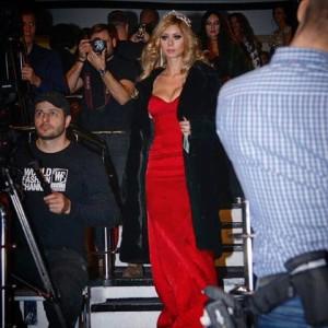 Платье от Кристины Бережневой