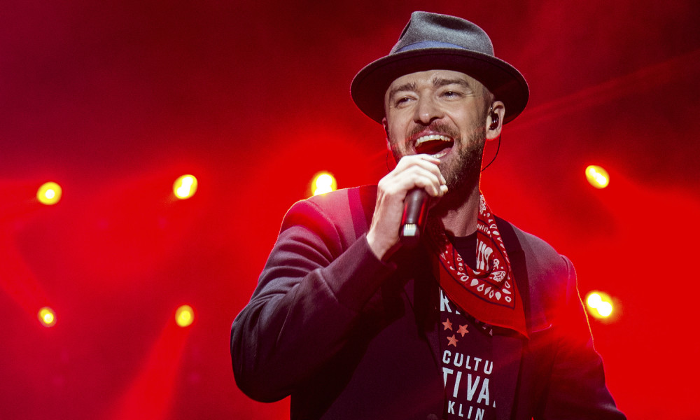 Justin Timberlake performs at the Pilgrimage Music and Cultural Festival on Saturday, Sept. 23, 2017, in Franklin, Tenn. (Photo by Amy Harris/Invision/AP)