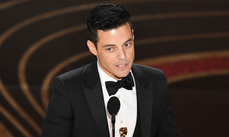 Mandatory Credit: Photo by Rob Latour/REX/Shutterstock (10112915hv) Rami Malek - Actor in a Leading Role - 'Bohemian Rhapsody' 91st Annual Academy Awards, Show, Los Angeles, USA - 24 Feb 2019